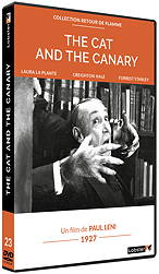 THE CAT AND THE CANARY - Paul Leni
